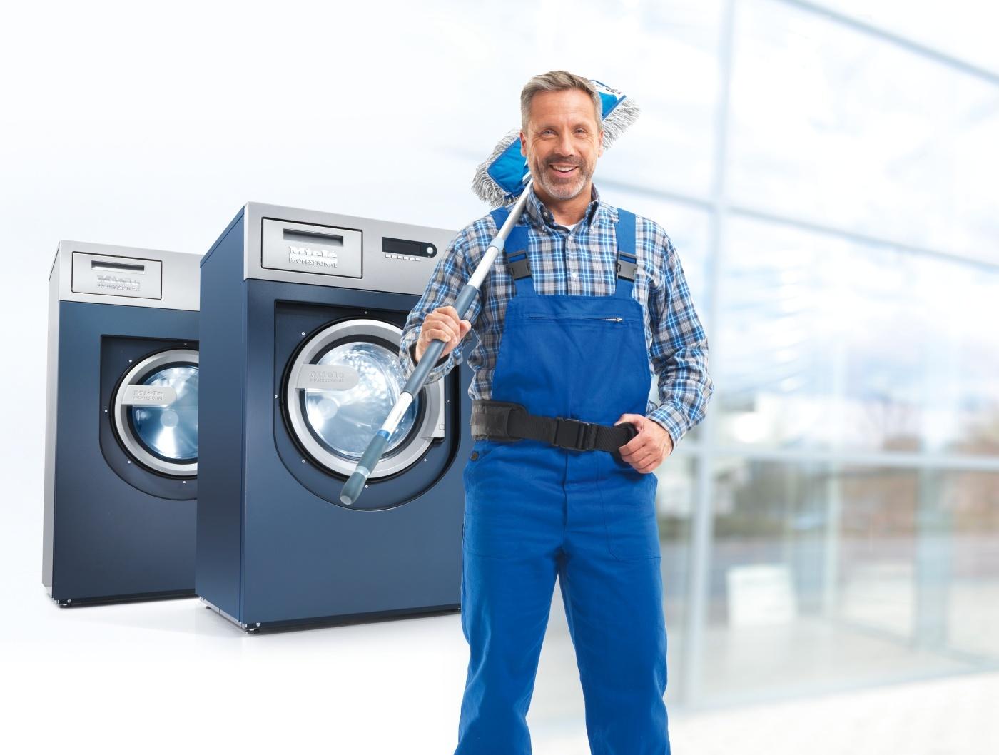 Waschmaschinen Gebäudereiniger