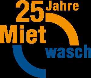 25 Jahre Mietwasch Logo