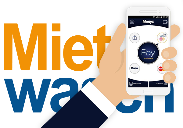 App-pay mit Mietwasch