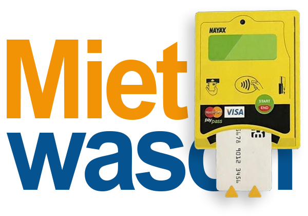 Creditcard-pay mit Mietwasch