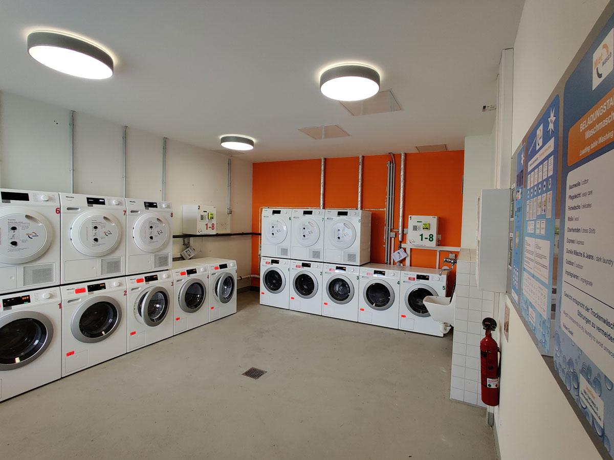 Waschraum für Studentenwerk Potsdam